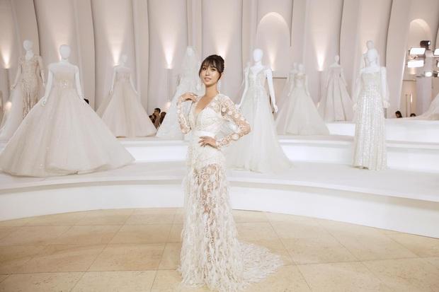 Lynk Lee diện váy trắng duyên dáng như cô dâu, spotlight đổ dồn vào vòng 1 o ép căng đầy hậu chuyển giới - Ảnh 5.
