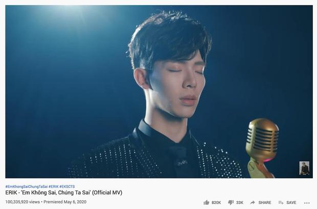 16 MV Vpop cán mốc 100 triệu view trong năm 2020: Sơn Tùng, Min và Lou Hoàng lập cú đúp; Hoài Lâm và Erik nhanh như gắn tên lửa - Ảnh 37.