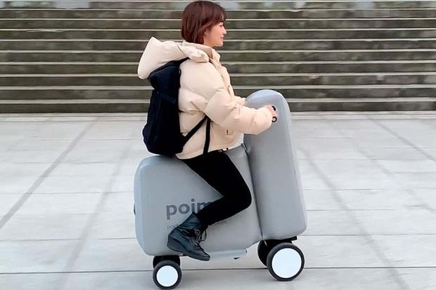 Độc đáo phong cách xe điện bơm hơi: Kích thước nhỏ gọn, gấp lại bỏ vừa trong balo cho chị em mang đi ngao du cả thế giới - Ảnh 4.