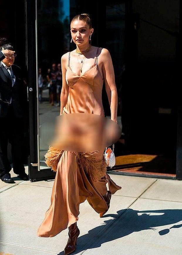 Diện váy lụa kín đáo là thế, Thanh Hằng lại lộ ngay khoảnh khắc nhạy cảm mà bản thân không hề hay biết - Ảnh 8.