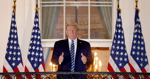 Ông Trump tiếp tục phát ngôn sốc sau khi hồi phục thần kỳ và miễn dịch với COVID-19 - Ảnh 1.
