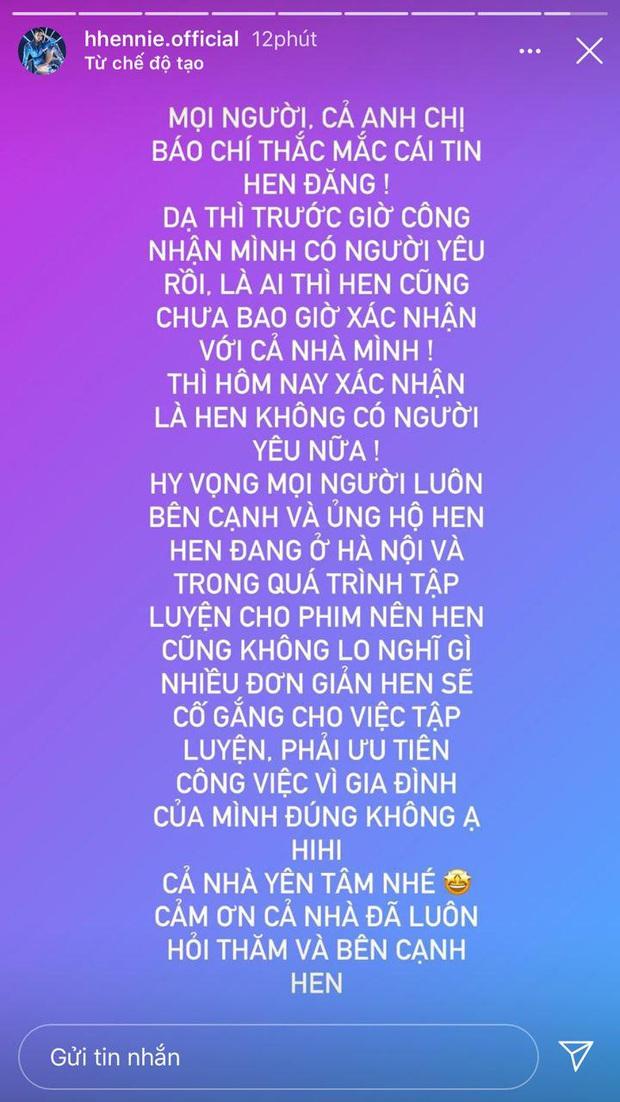 """1 tháng trước còn đưa đi ra mắt hội Hoa hậu, nay HHen Niê chính thức xác nhận đã """"toang"""" với bạn thân Đen Vâu - Ảnh 2."""