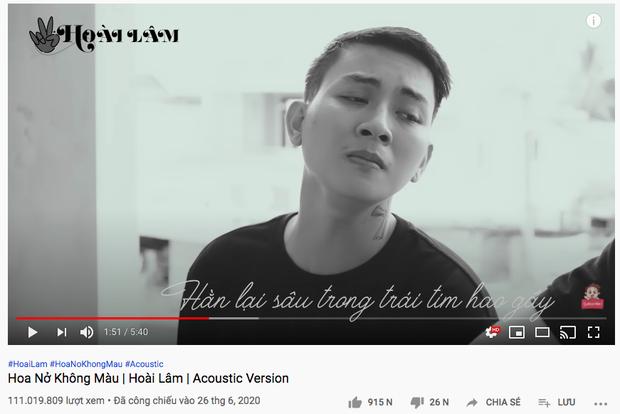 16 MV Vpop cán mốc 100 triệu view trong năm 2020: Sơn Tùng, Min và Lou Hoàng lập cú đúp; Hoài Lâm và Erik nhanh như gắn tên lửa - Ảnh 34.