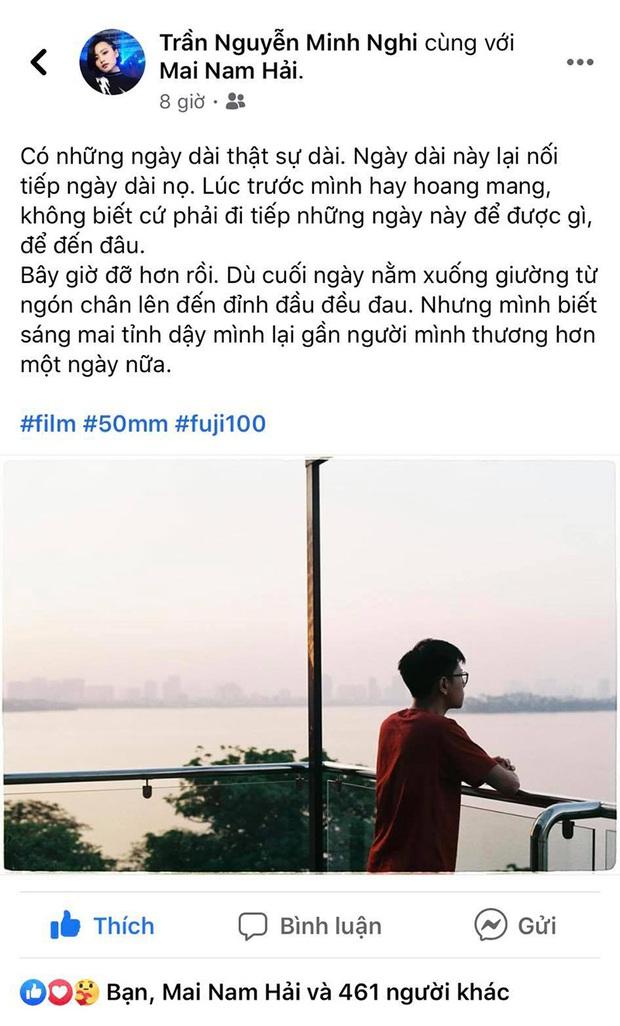 MC Minh Nghi trải lòng tâm trạng khi yêu xa, tiết lộ Bomman chính là tâm can bảo bối trong lòng - Ảnh 4.
