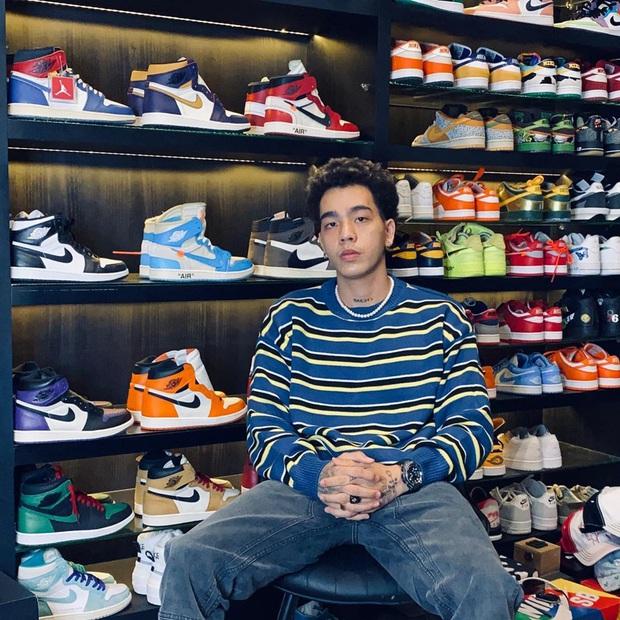 Khoa Xian - cậu chủ trẻ very rich ốp tường bằng giày hiệu, lấp kín Instagram bằng xe sang và outfit chất chơi - Ảnh 1.