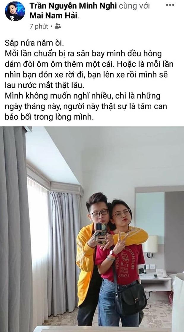 MC Minh Nghi trải lòng tâm trạng khi yêu xa, tiết lộ Bomman chính là tâm can bảo bối trong lòng - Ảnh 2.