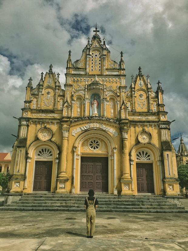 Phát hiện thiên đường của các nhà thờ đẹp như châu Âu ngay tại Nam Định, chụp ảnh sống ảo thì cứ gọi là nhất - Ảnh 5.