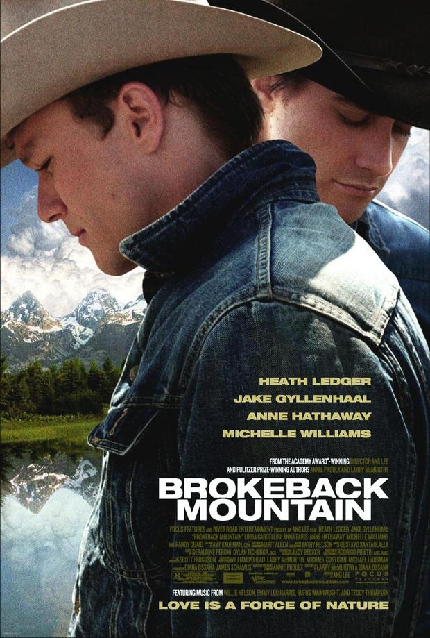 15 năm sau Brokeback Mountain: Nữ phụ đam mỹ bị đồn là vợ Shakespeare đầu thai, chàng Joker đột ngột ra đi khiến khán giả mãi nuối tiếc - Ảnh 1.