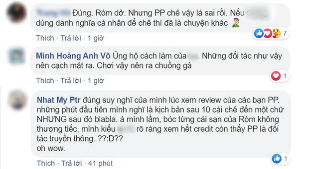 Biến căng: Đối tác truyền thông của Ròm review phim nặng nề không thương tiếc, netizen tranh cãi trung thành khán giả hay thiếu chuyên nghiệp? - Ảnh 6.