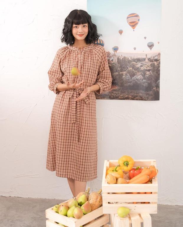 11 mẫu váy dài tay nền nã thích hợp cho ngày se lạnh, diện lên là chỉ có xinh lịm tim - Ảnh 9.
