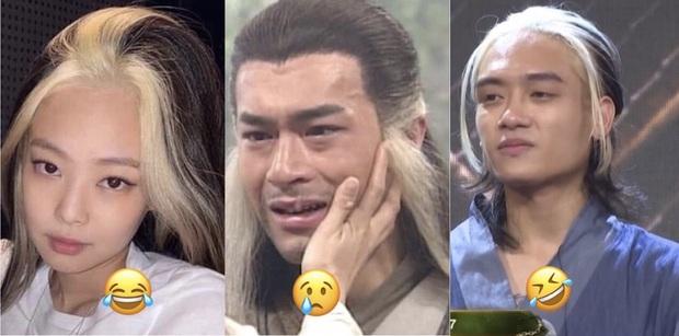 Học trò Karik lươn lẹo, tưởng thề chặt tay để hóa thành Dương Quá ai dè chỉ dám đổi kiểu tóc cho giống Jennie (BLACKPINK)? - Ảnh 3.