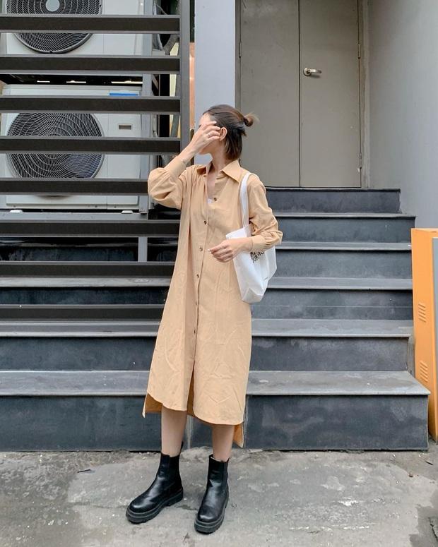 11 mẫu váy dài tay nền nã thích hợp cho ngày se lạnh, diện lên là chỉ có xinh lịm tim - Ảnh 1.