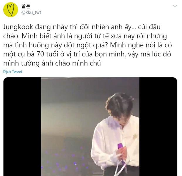 Câu chuyện đằng sau cái cúi đầu của BTS tại concert, fan lại được dịp phổng mũi vì idol vừa có tài vừa lễ phép! - Ảnh 3.