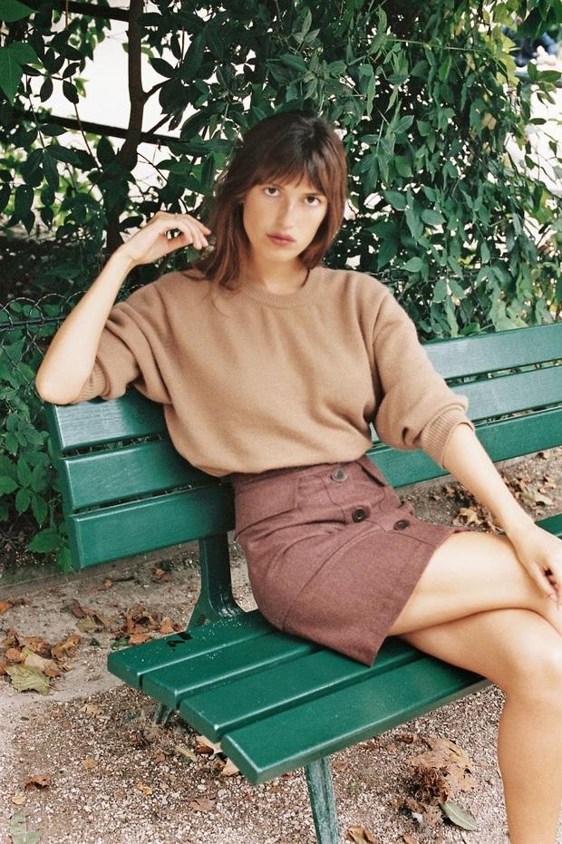 Để đẹp như gái Pháp, nàng công sở Việt hãy học theo 5 cách diện áo len mỏng đẹp đủ mọi đường - Ảnh 14.