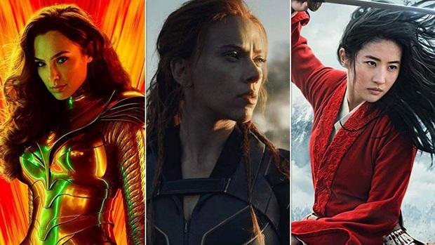 Hết Mulan lại Black Widow, giờ đến chị đại Wonder Woman cũng biến thành phim chiếu mạng? - Ảnh 2.