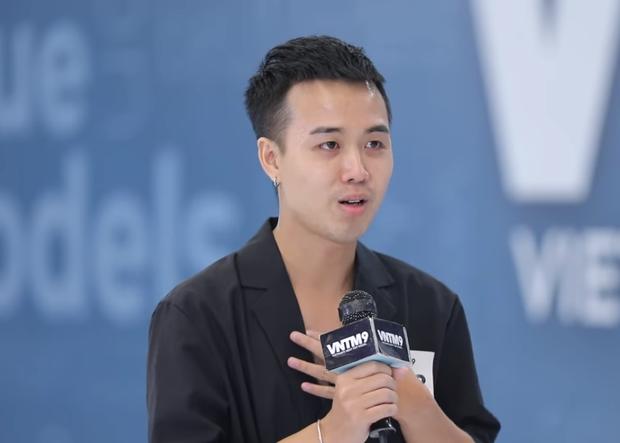 Next Top Model: Nam Trung khiến nam thí sinh sợ tới mức lắp bắp, rơi nước mắt - Ảnh 4.