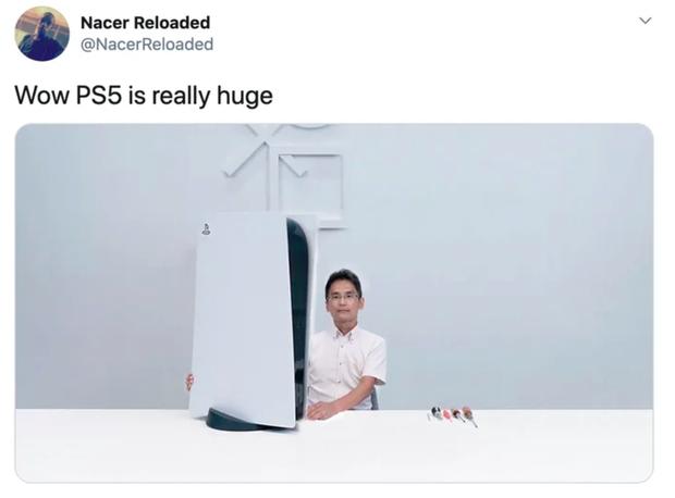 PS5 trở thành cảm hứng tấu hài của cư dân mạng - Ảnh 2.