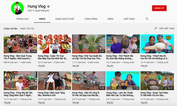 1 kênh YouTube của Hưng Vlog bất ngờ biến mất sau khi bị xử phạt 10 triệu đồng vì video trộm tiền heo đất - Ảnh 2.