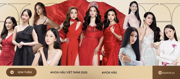 Họp báo Bán kết Hoa hậu Việt Nam 2020: Tiểu Vy đọ sắc với cả dàn hậu, Thuỵ Vân đeo nhẫn kim cương nổi bần bật - Ảnh 14.