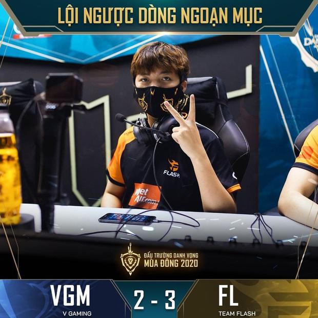 Nhờ nội tại Huy Popper, nhà vô địch Team Flash thắng nhọc nhằn V Gaming - Ảnh 3.