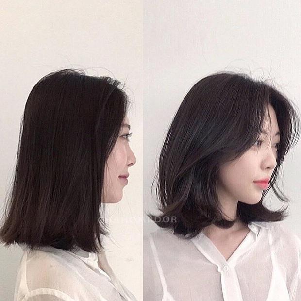 5 kiểu tóc chân ái cho nàng mặt tròn, khiến nhan sắc thanh tú như mới đi tiêm botox gọn mặt  - Ảnh 3.