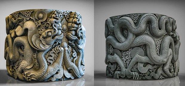 Nhóm nghiên cứu 8x dùng công nghệ 3D phục dựng tháp cổ chùa Dạm - Ảnh 4.