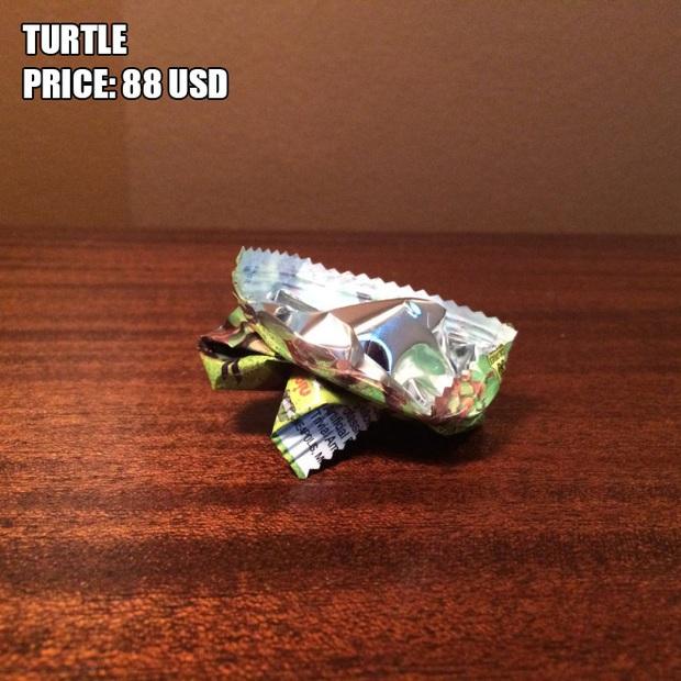 Anh chàng kiếm bộn tiền nhờ bán các kiệt tác origami phong cách cực lú lẫn - Ảnh 2.