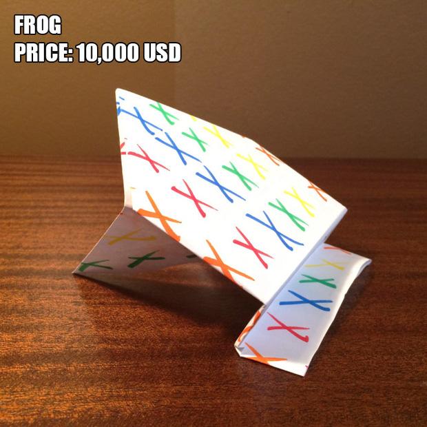 Anh chàng kiếm bộn tiền nhờ bán các kiệt tác origami phong cách cực lú lẫn - Ảnh 12.