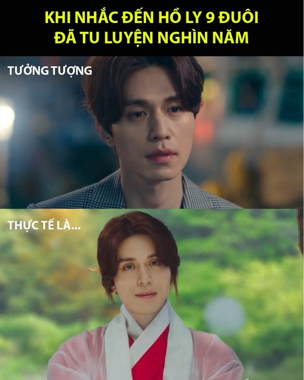 Netizen khóc thét vì Lee Dong Wook để tóc dài sến rện, quất cả cây màu hồng ở Bạn Trai Tôi Là Hồ Ly - Ảnh 6.