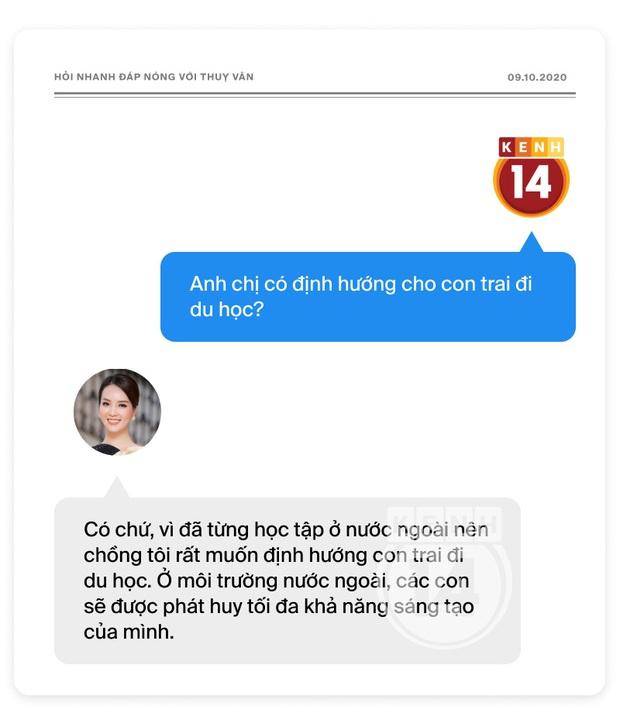 Phỏng vấn nóng Thuỵ Vân trước Bán kết HHVN: Hé lộ lý do 10 năm giữ kín diện mạo ông xã, khẳng định Hoa hậu không phải một nghề - Ảnh 16.