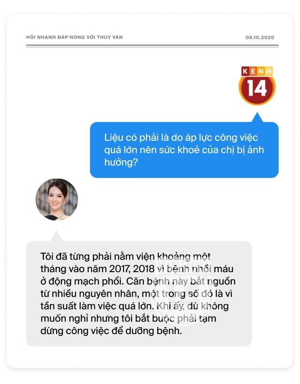 Phỏng vấn nóng Thuỵ Vân trước Bán kết HHVN: Hé lộ lý do 10 năm giữ kín diện mạo ông xã, khẳng định Hoa hậu không phải một nghề - Ảnh 20.