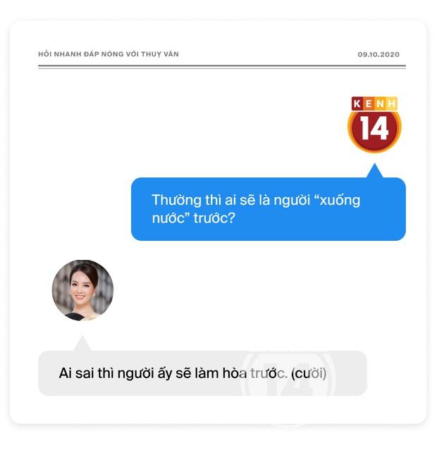 Phỏng vấn nóng Thuỵ Vân trước Bán kết HHVN: Hé lộ lý do 10 năm giữ kín diện mạo ông xã, khẳng định Hoa hậu không phải một nghề - Ảnh 22.