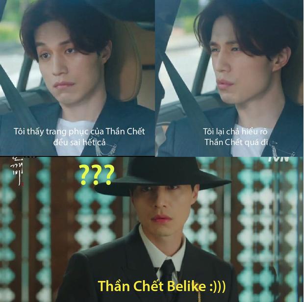 Lee Dong Wook vừa chuyển kiếp hồ ly đã tự vả Thần Chết ở Goblin ăn mặc sai trái - Ảnh 3.