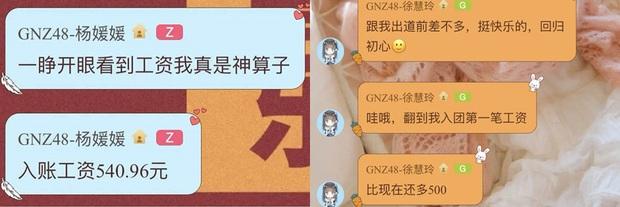 Dàn idol SNH48 đồng loạt tiết lộ mức lương cực thấp gây choáng: Còn thua cả tiền công rửa bát thuê, hiện thực cuộc sống là đây! - Ảnh 4.