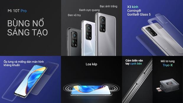 Xiaomi Mi 10T Pro ra mắt: Màn hình 144Hz, camera 108MP, Snapdragon 865, giá từ 11,9 triệu đồng - Ảnh 2.