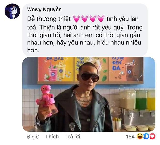 Rhymastic đăng hình thiết lập trạng thái hòa bình mới với Wowy sau gần 1 tuần căng thẳng vì drama Rap Việt - Ảnh 4.