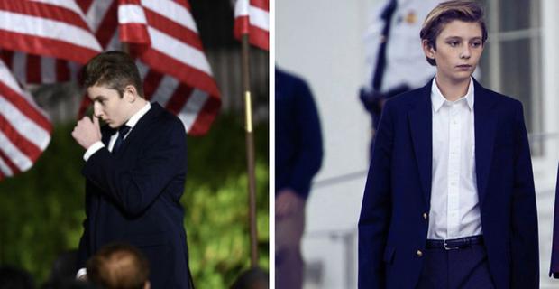 Những khoảnh khắc cười hiếm hoi gần đây nhất của Hoàng tử Nhà Trắng Barron Trump sau khi loạt hình ảnh buồn bã phủ sóng truyền thông - Ảnh 1.
