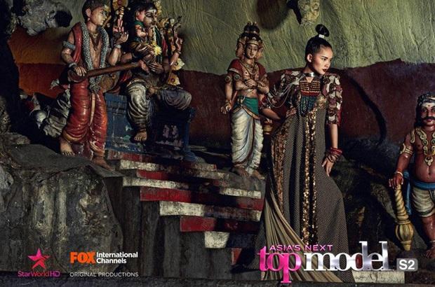 Trước khi lên cân vì sinh nở, Phan Như Thảo từng là đại diện cực thiện chiến của Việt Nam tại Asias Next Top Model - Ảnh 3.