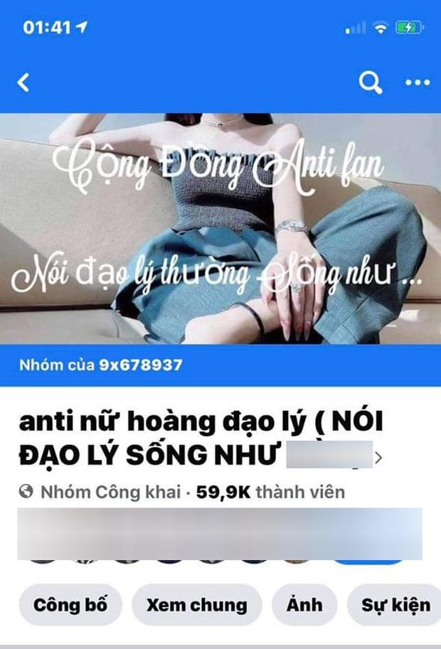 Câu chuyện không có hồi kết: Các group anti Hương Giang liên tiếp được lặp lại, netizen không biết đến khi nào nàng Hậu mới cảm hóa hết - Ảnh 4.