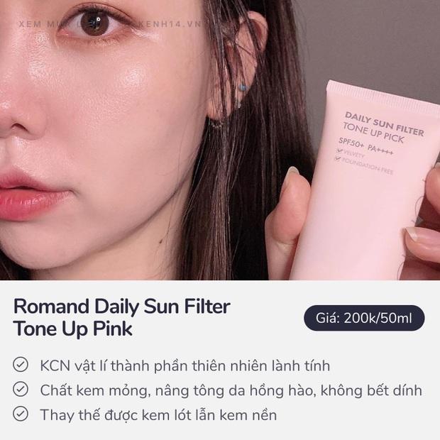 5 kem chống nắng kiêm kem lót hội chăm makeup chắc chắn sẽ ưng - Ảnh 4.