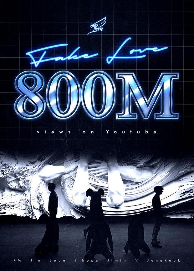 BTS bỏ túi MV thứ 3 cán mốc 800 triệu lượt xem trước thềm comeback, nhưng chưa thể vượt qua kỷ lục của BLACKPINK - Ảnh 1.
