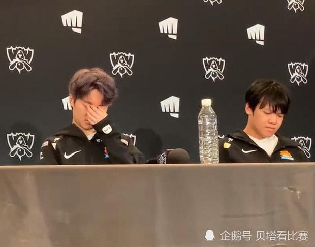 SwordArt và SofM bật khóc, cả đội Suning như mất hồn sau thất bại Chung kết CKTG 2020 - Ảnh 2.
