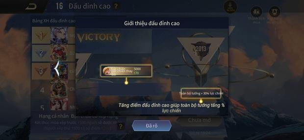 Liên Quân Mobile: Chi tiết về chế độ Đấu Đỉnh Cao vừa được cập nhật, sẽ là dấu chấm hết cho nạn buff bẩn? - Ảnh 6.