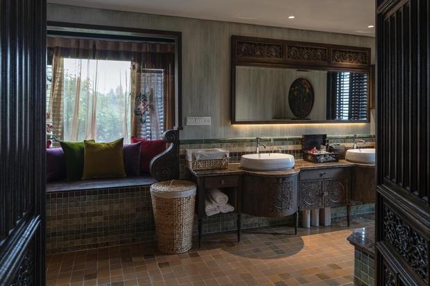 Ngôi nhà 400m2 tại Thảo Điền - Quận 2 được thiết kế từ ngôi biệt thự cổ, không gian thiên nhiên mê đắm lòng người - Ảnh 9.
