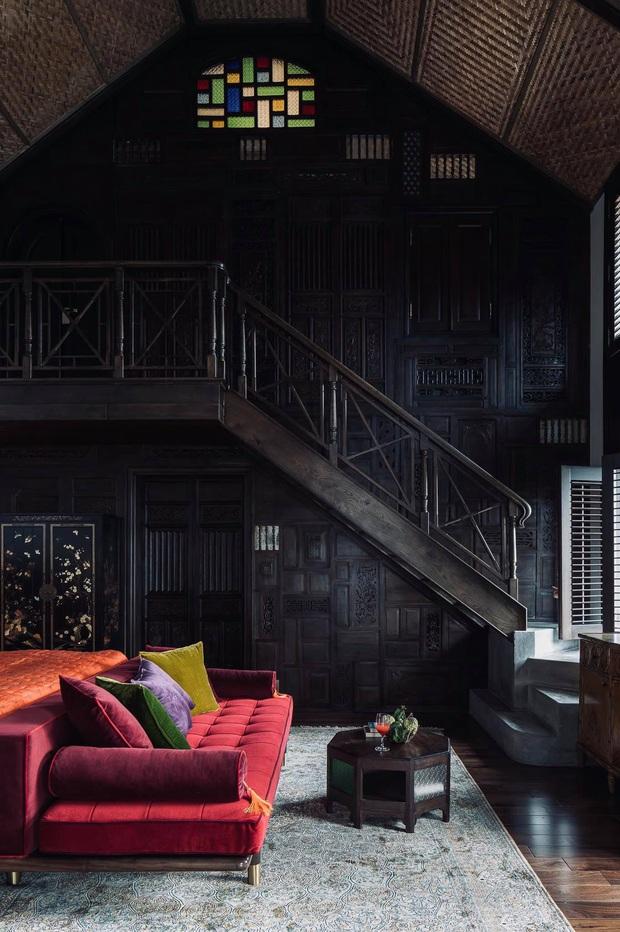 Ngôi nhà 400m2 tại Thảo Điền - Quận 2 được thiết kế từ ngôi biệt thự cổ, không gian thiên nhiên mê đắm lòng người - Ảnh 10.