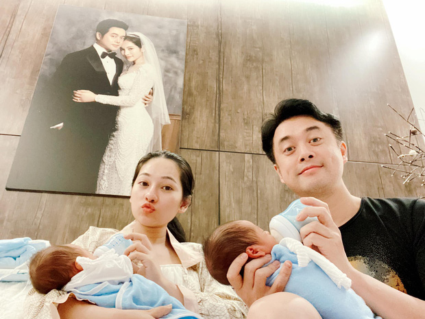 Cuối cùng Sara Lưu cũng công khai clip cận mặt quý tử song sinh, còn thông báo nhập hội bà mẹ thiếu nghị lực của năm - Ảnh 6.
