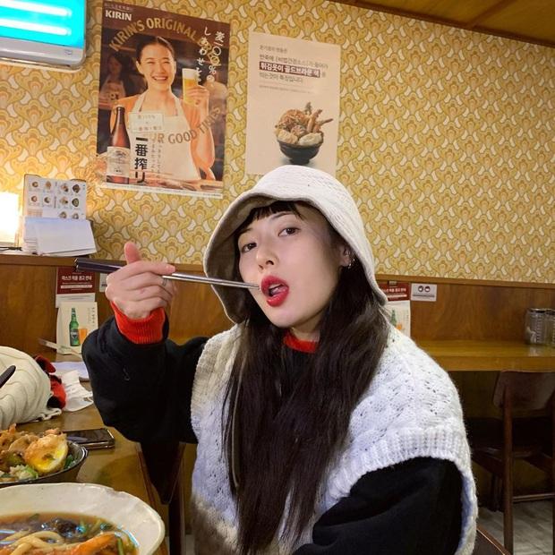5 kiểu mũ được sao Hàn yêu thích trong mùa lạnh, vừa giúp giữ ấm vừa để chụp hình siêu xinh - Ảnh 7.