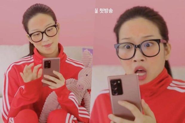 Mỹ nhân Moon Ga Young lộ cả gương mặt đầy mụn kèm lông mày sâu róm vẫn bị chê vì chưa đủ xấu cho True Beauty - Ảnh 2.