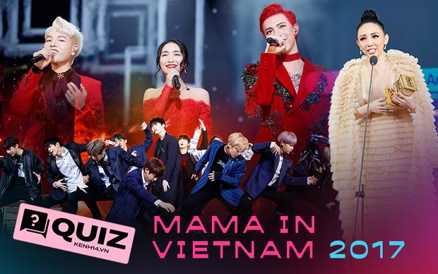 Bạn có nhớ MAMA năm 2017 từng tổ chức tại Việt Nam siêu thành công, làm thử bài quiz này trước thềm đón MAMA 2020 nhé! - Ảnh 1.
