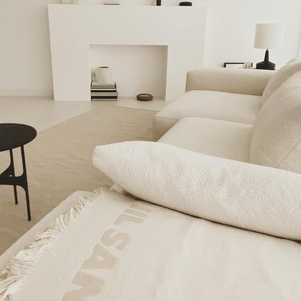 Căn nhà màu trắng của nhà thiết kế Lâm Gia Khang: Cứ nghĩ đơn điệu nhưng trông sang quá - Ảnh 5.